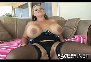 Beauties receives disintegrated and fingered