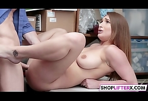 Massive Jugs Damsel Skylar Gets Fucked For Theft
