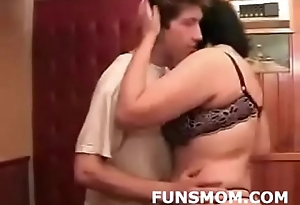 Mature fucking with son'_s friend