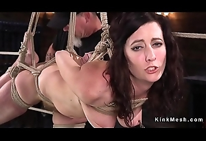 Bdsm legend suffers bondage and torment