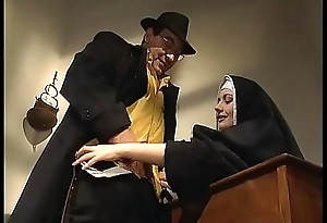 Insolent nun anal fucked in will not hear of friary
