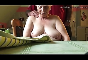 76 year old mother in law,nice bosom