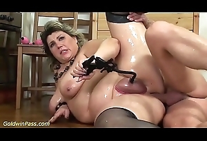 fat mammas first extreme porn lesson