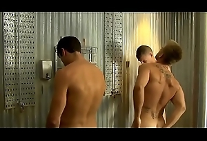 Twink group nearly shower