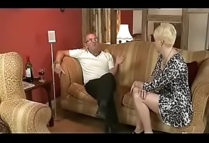 Dad Spanks Moms Best friend throe Fucks her. See pt2 at goddessheelsonline.co.uk