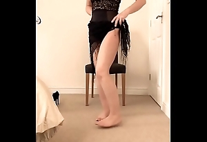 Beautiful british milf does a simply girlie show added to masturbation for u chaps