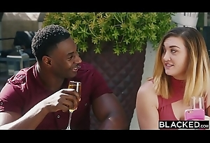 BLACKED Evelyn Claire takes on four BBC'_s