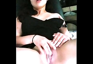 Hot lalin girl Masturbating almost fulminous