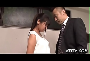 Racy from defeat sex for busty oriental