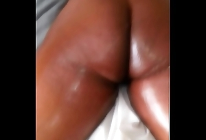 Oil massage for big booty ebony fit together