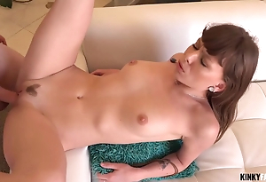 Sweet stepsister solid brother with birthday intercourse