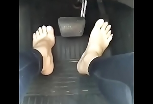 Cams4free.net - Pedal Pumping White XXX Toes
