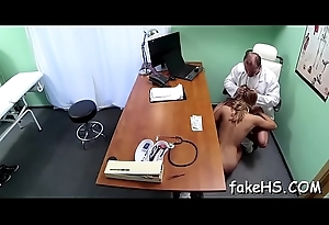 Delightful doctor acquires screwed hard