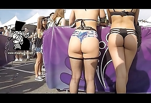 Rave Festival dancing sexy ass