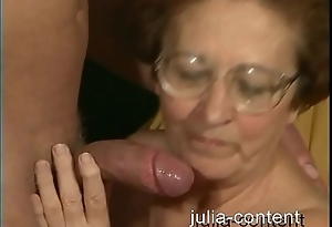 70yo Grandmother drilled younger Man